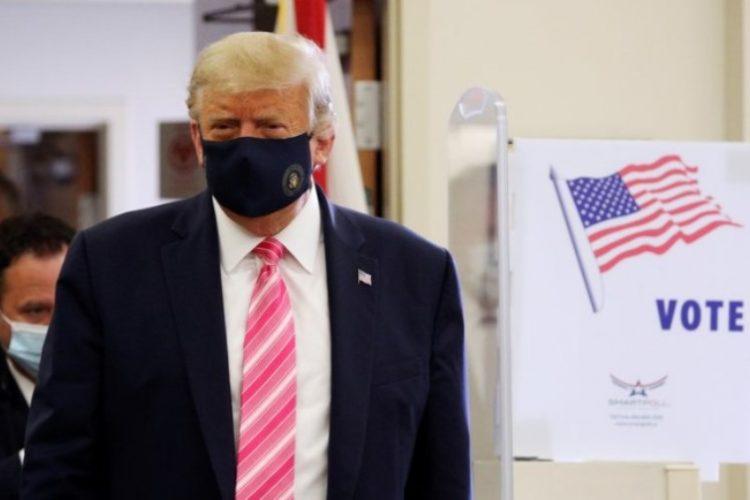 Vota Trump de forma anticipada en Florida